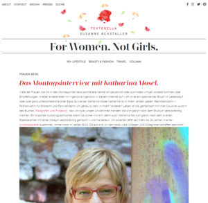 Textarella Interview Katharina Mosel